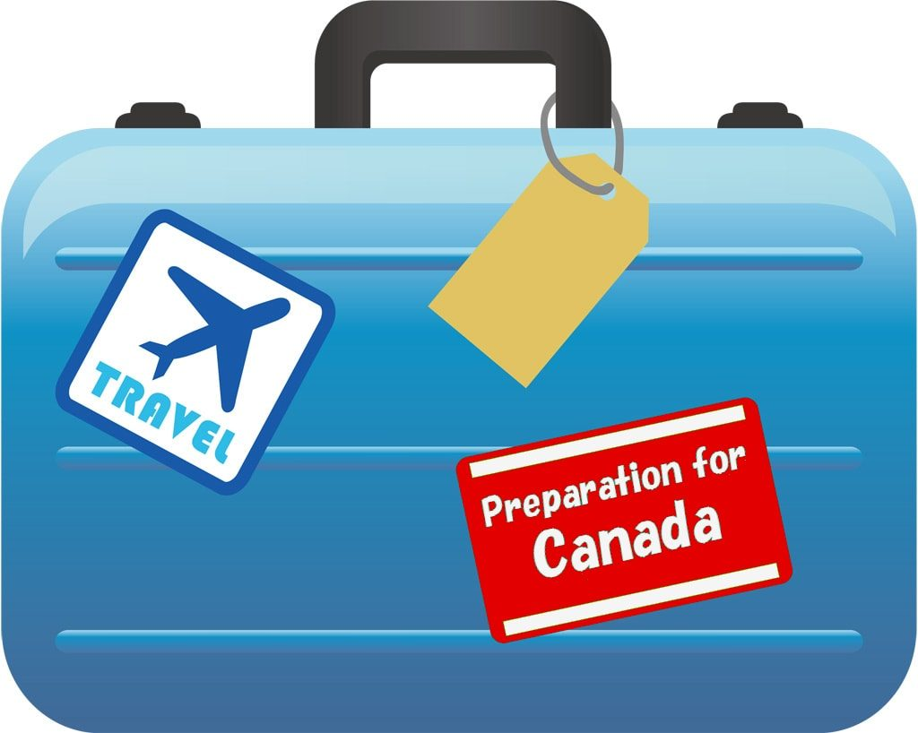 suitcase for canada